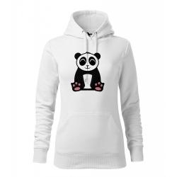 Obrázek Dámská Mikina Cape - Tučňák a jeho kamarádi - #2 panda velká, vel. M , bílá