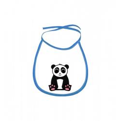 Obrázek Dětský bryndák Tučňák a jeho kamarádi - #2 panda velká - modrý