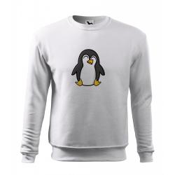 Obrázek Mikina Essential - Tučňák a jeho kamarádi - #4 tučňák císařský, vel. 12 let , bílá