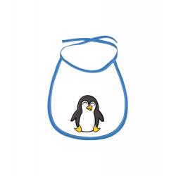 Obrázek Dětský bryndák Tučňák a jeho kamarádi - #4 tučňák císařský - modrý