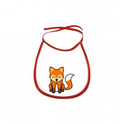 Obrázek Dětský bryndák Tučňák a jeho kamarádi - #5 liška obecná - červený