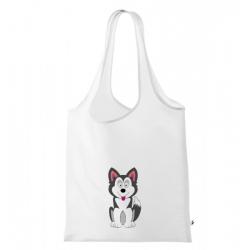 Obrázek Nákupní taška Veselá zvířátka - Husky