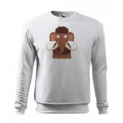 Obrázek Mikina Essential - Veselá zvířátka - Mamut, vel. 12 let - bílá