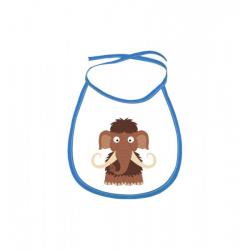 Obrázek Dětský bryndák Veselá zvířátka - Mamut - modrý
