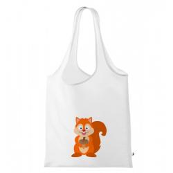 Obrázek Nákupní taška Veselá zvířátka - Veverka