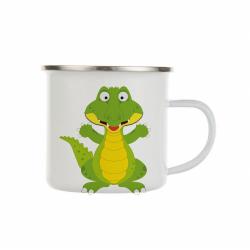 Obrázek Plecháček Veselá zvířátka - Krokodýl