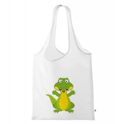 Obrázek Nákupní taška Veselá zvířátka - Krokodýl