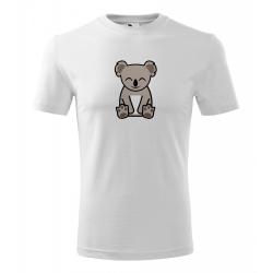 Obrázek Pánské Tričko Classic New - Tučňák a jeho kamarádi - #14 koala medvídkovitý, vel. S - bílá