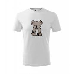 Obrázek Dětské Tričko Classic New - Tučňák a jeho kamarádi - #14 koala medvídkovitý, vel. 6 let , bílá