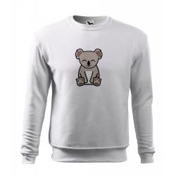 Obrázek Mikina Essential - Tučňák a jeho kamarádi - #14 koala medvídkovitý, vel. 12 let , bílá