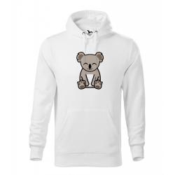 Obrázek Pánská Mikina Cape - Tučňák a jeho kamarádi - #14 koala medvídkovitý, vel. M , bílá
