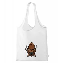 Obrázek Nákupní taška Tučňák a jeho kamarádi - #15 bizon americký