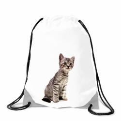 Obrázek Batoh na záda Kotě - bílý