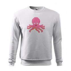Obrázek Mikina Veselá zvířátka - Chobotnička, vel. 12 let , bílá