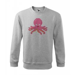 Obrázek Mikina Veselá zvířátka - Chobotnička, vel. 12 let , šedý melír