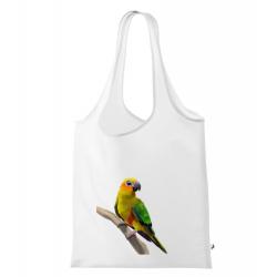 Obrázek Nákupní taška Malovaná zvířátka - Papoušek