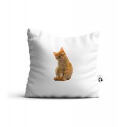 Obrázek Polstář Malovaná zvířátka - Kočička