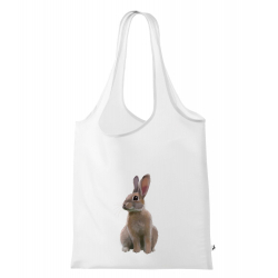 Obrázek Nákupní taška Malovaná zvířátka - Králíček
