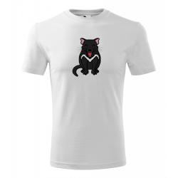 Obrázek Pánské Tričko Classic New - Tučňák a jeho kamarádi - #17 ďábel medvědovitý, vel. S , bílá