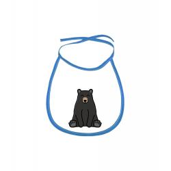 Obrázek Dětský bryndák Tučňák a jeho kamarádi - #18 medvěd baribal - modrý