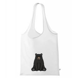 Obrázek Nákupní taška Tučňák a jeho kamarádi - #18 medvěd baribal