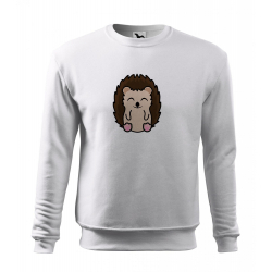 Obrázek Mikina Essential - Tučňák a jeho kamarádi - #26 ježek západní, vel. 12 let , bílá