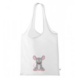 Obrázek Nákupní taška Veselá zvířátka - Myška