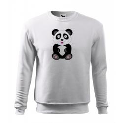 Obrázek Mikina Veselá zvířátka - Panda, vel. 12 let , bílá