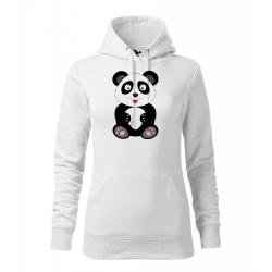 Obrázek Dámská Mikina Cape - Veselá zvířátka - Panda, vel. M - bílá
