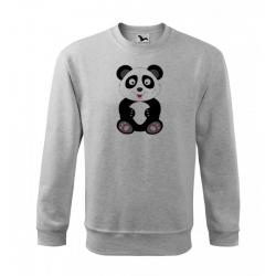 Obrázek Mikina Veselá zvířátka - Panda, vel. 12 let , šedý melír