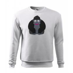 Obrázek Mikina Veselá zvířátka - Gorila, vel. 12 let , bílá