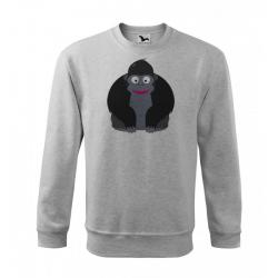 Obrázek Mikina Veselá zvířátka - Gorila, vel. 12 let , šedý melír