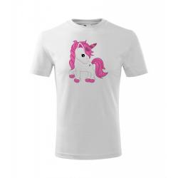 Obrázek Dětské Tričko Classic New - Fantasy - Unicorn, vel. 6 let - bílá