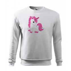 Obrázek Mikina Essential - Fantasy - Unicorn, vel. 12 let - bílá