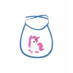 Obrázek Dětský bryndák Fantasy - Unicorn - modrý
