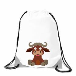 Obrázek Batoh na záda Veselá zvířátka - Buvol
