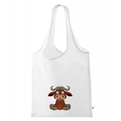Obrázek Nákupní taška Veselá zvířátka - Buvol