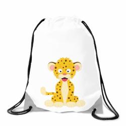 Obrázek Batoh na záda Veselá zvířátka - Leopard