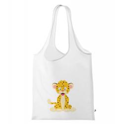 Obrázek Nákupní taška Veselá zvířátka - Leopard