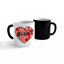 Obrázek Měnící hrnek Valentýn - Miluji Tě #4