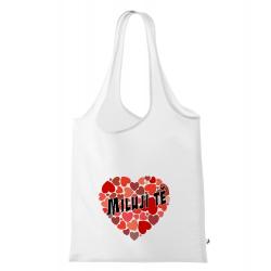 Obrázek Nákupní taška Valentýn - Miluji Tě #4