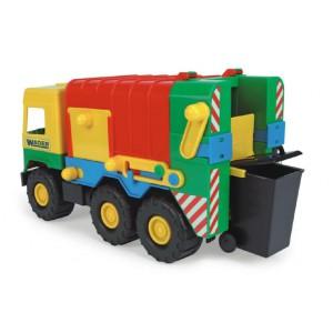 Auto middle Truck popelář plast 41cm Wader - Cena : 305,- Kč s dph