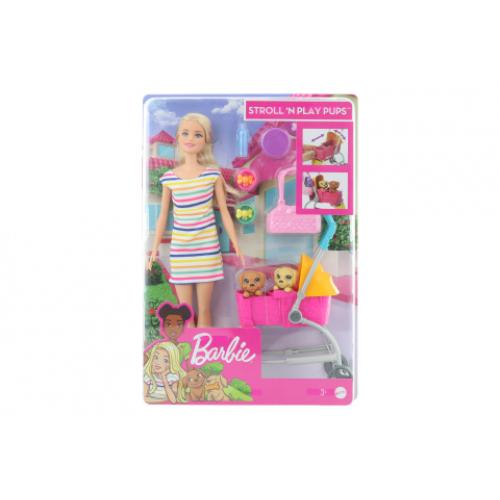 Barbie Panenka na vycházce s pejskem GHV92 - Cena : 665,- Kč s dph