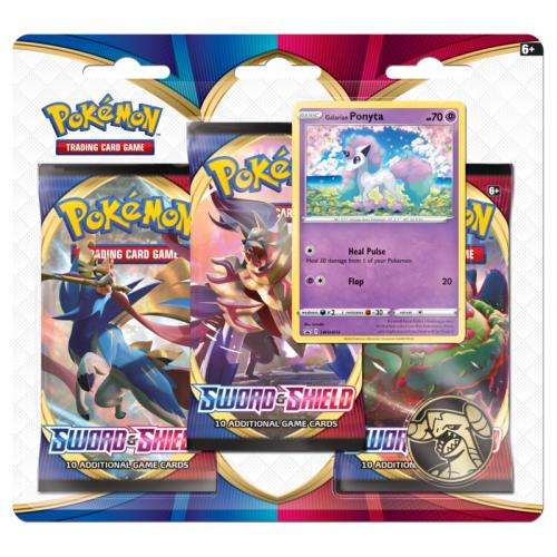 Pokémon TCG: Sword and Shield 3 Blister Booster - Cena : 410,- Kč s dph