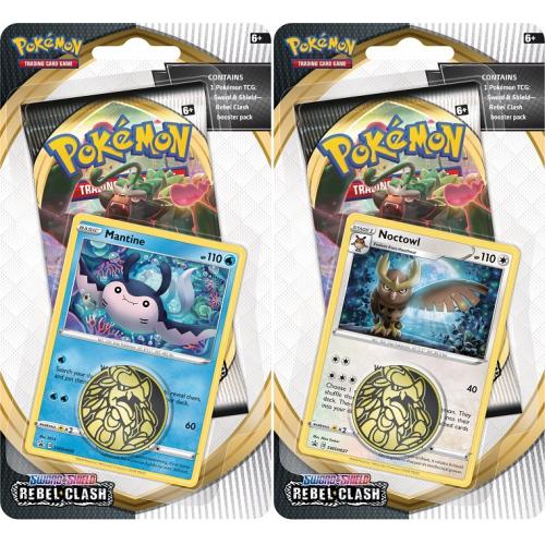 Pokémon TCG: SWSH02 Rebel Clash Checklane Blister - Cena : 160,- Kč s dph