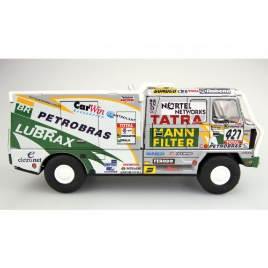 Auto Tatra 815 Dakar 2001 Petrobras kov 16cm 1:43 v krabičce Kovap - Cena : 1317,- Kč s dph