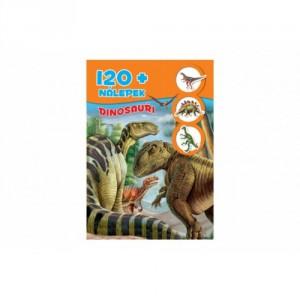 Knížka se samolepkami 120+ Dinosauři CZ verze 21x30cm - Cena : 98,- Kč s dph