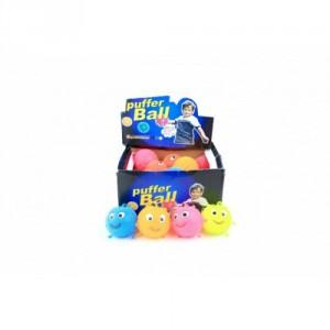 Míček antistresový mačkací sliz 7,5cm na baterie se světlem mix barev 24ks v boxu - Cena : 44,- Kč s dph