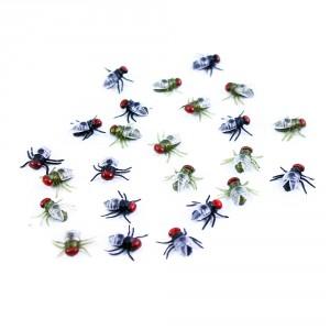 dekorace halloween mouchy v sáčku - Cena : 61,- Kč s dph