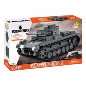 Cobi 3062  WOT Pz. Kpfw. III Ausf. J - Cena : 419,- Kč s dph